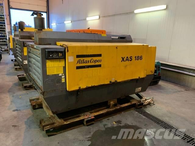 Atlas Copco XAS 186 DD, 2007, Woudenberg, Netherlands - Used compressors -  Mascus UK