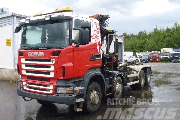 Scania R 440 8X4 EURO 5