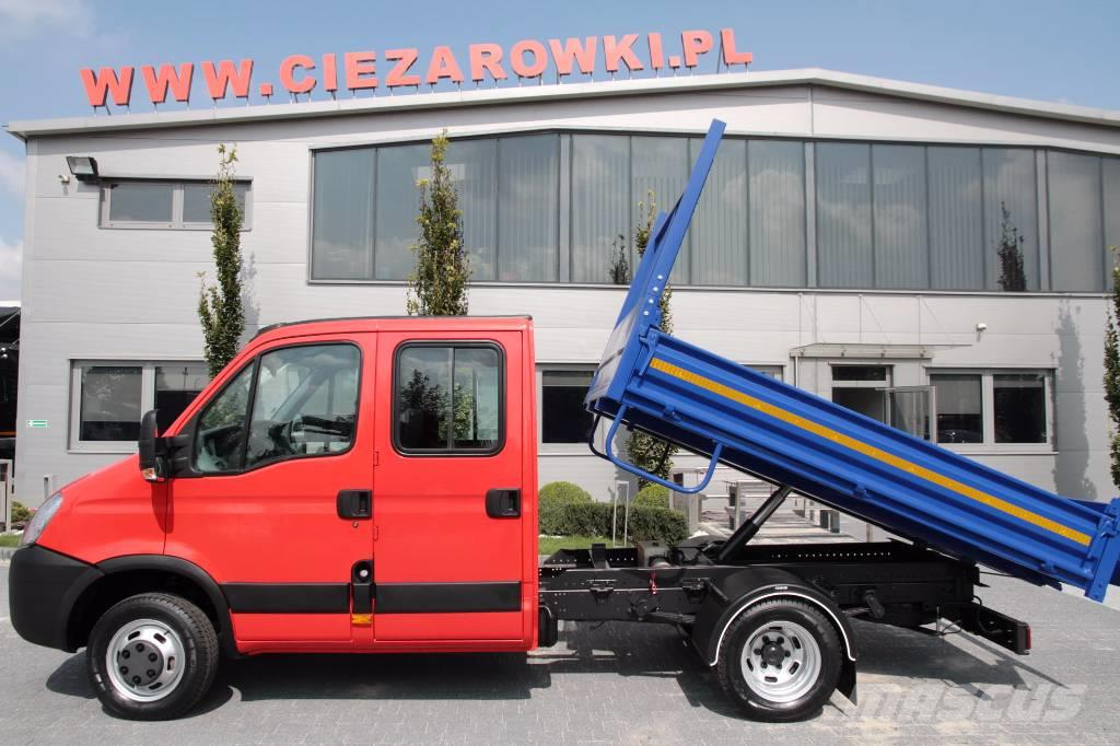 used iveco daily 35c10d tipper double crew cab 65 000 km. Black Bedroom Furniture Sets. Home Design Ideas