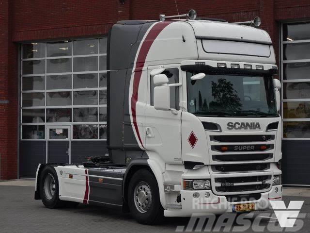 Scania R580 Topline Euro6 Retarder Full Spoiler