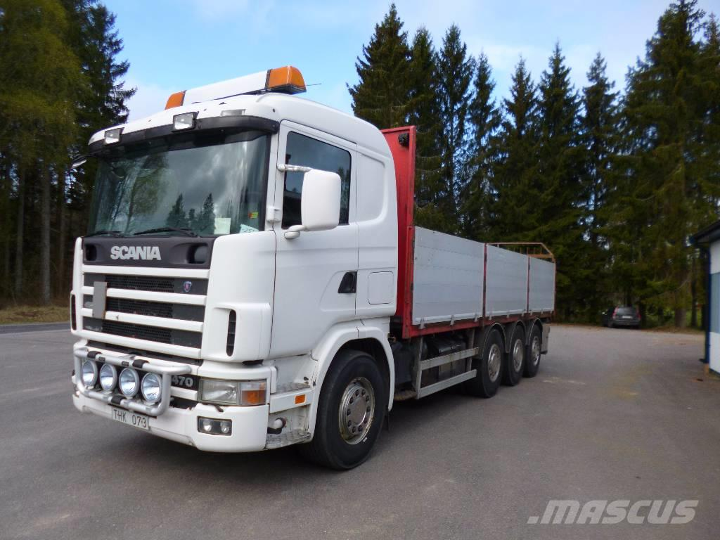 Scania R124gb 8x4*4nb470