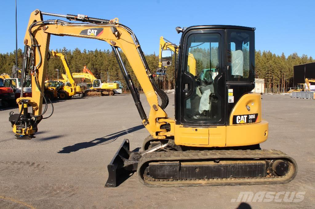 Caterpillar 305 E / Engcon EC 206 Propo