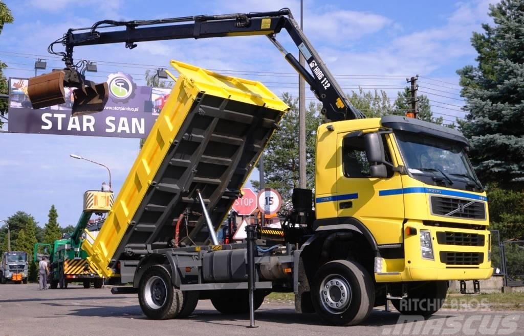 Volvo FM9 260 4x4 Hiab 112 Crane Tipper