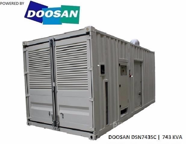 Doosan DP222LB - 743 KVA - SNS1029
