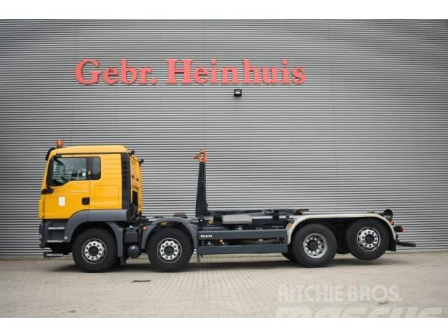 MAN TGS 35.440 8x2 Meiller 30 Tons Hooklift Euro 5! ID