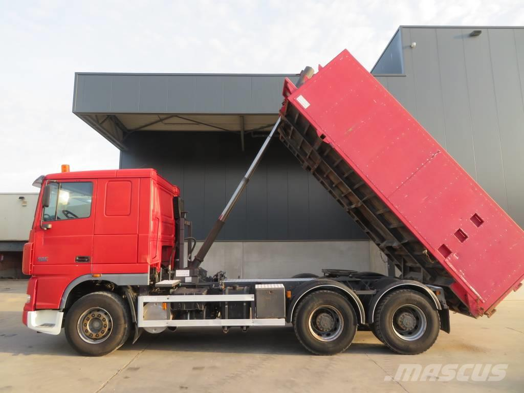 DAF XF95.530 91 ton tractor + tipper