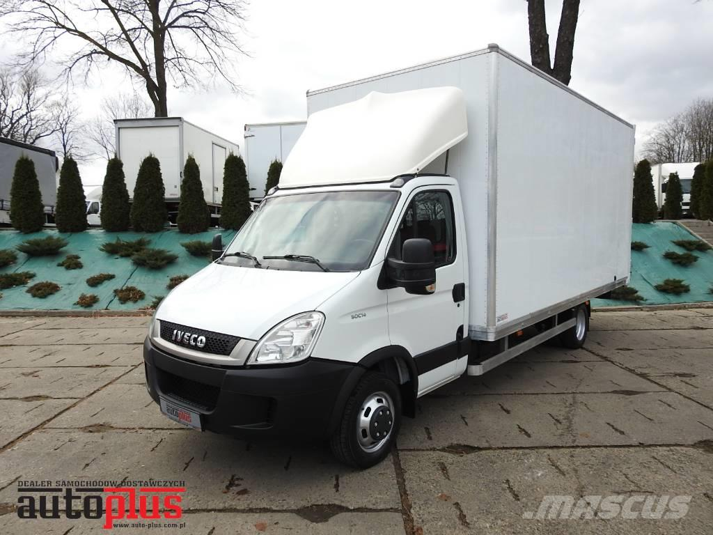 Iveco DAILY 50C14 BOX TEMPOMAT 11 EUROPALET