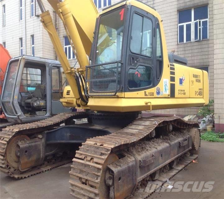 Komatsu used excavator hot pc450-6