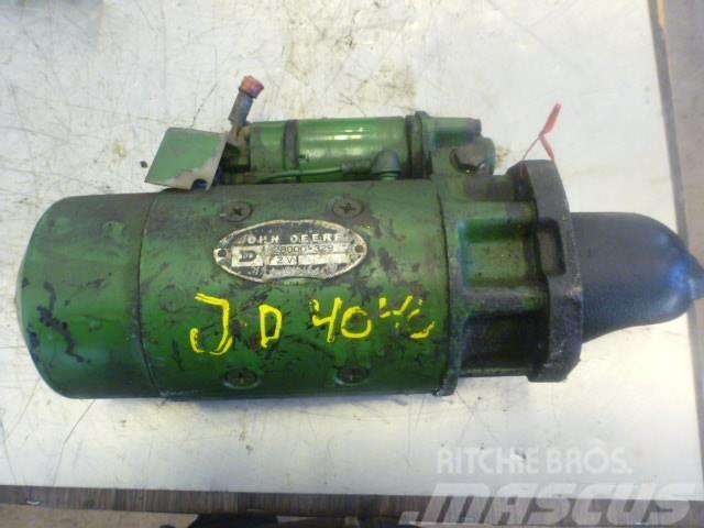 John Deere 4040 startmotor