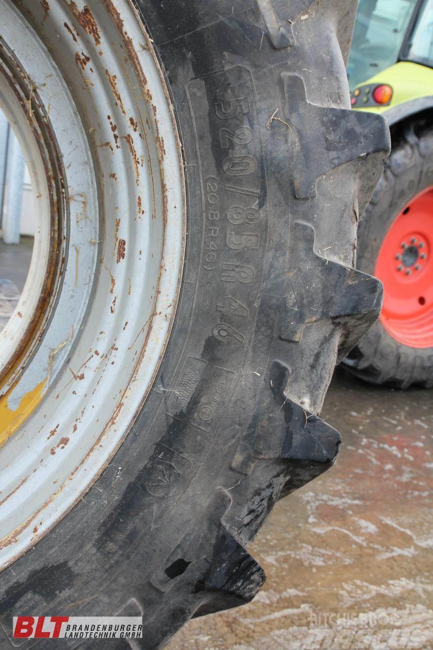 Michelin 520/85 R46(Michelin) 540/65 R34 (Pirelli)