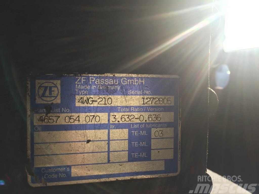 ZF 4 WG 210 Hitachi ZW 250