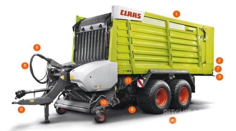 CLAAS CARGOS 8500