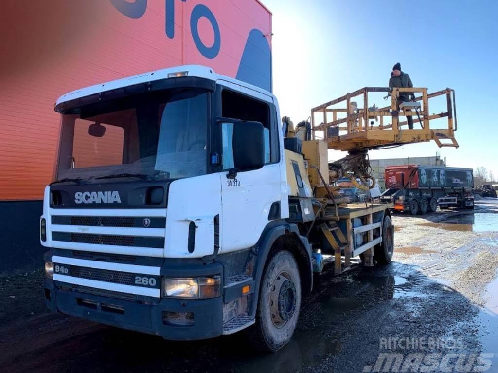 Scania P94 DB4X2NB 260 MANUAL, LIFT + COMPRESSOR FOR PART