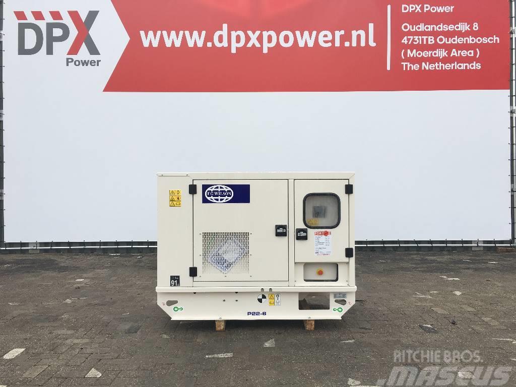 FG Wilson P22-6 - 22 kVA Generator - DPX-16002