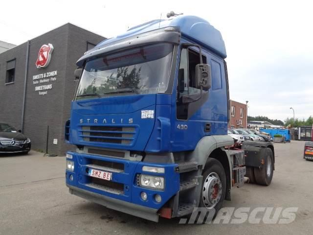 """Iveco Stralis 430 475""""km/manual/french"""