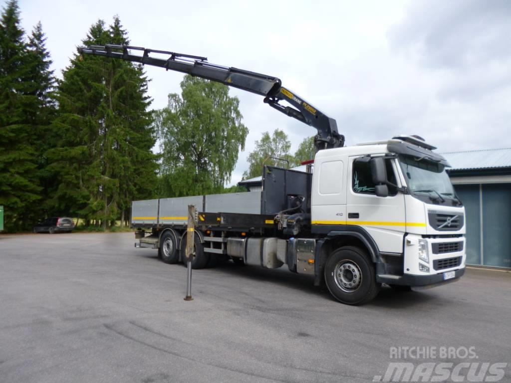 Volvo Trävarubil Fm410 6x2*4