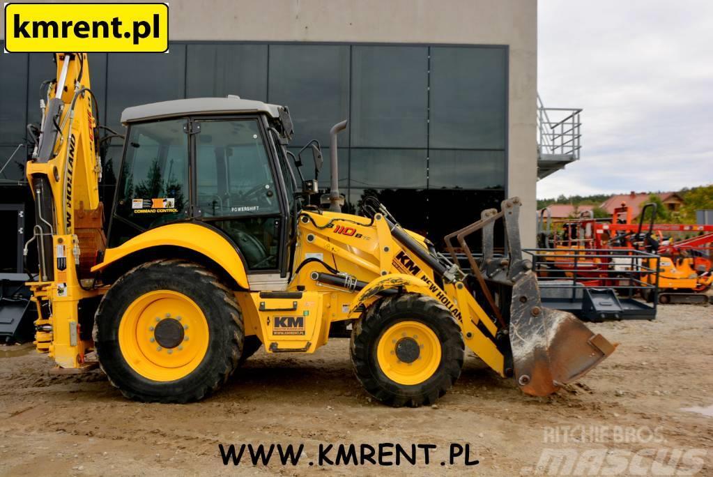 New Holland B 110 B JCB 3CX CAT 432 D E F 428 F CASE 580 590