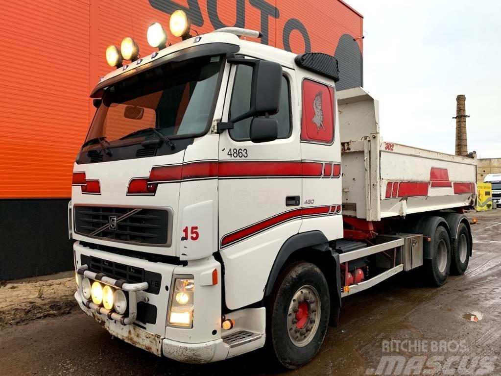 Volvo FH12 460 Manual + Full steel + 6x4