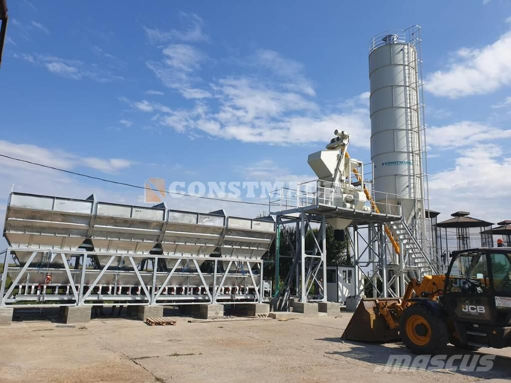 Constmach Compact60 Compact Concrete Batching Plant For ...