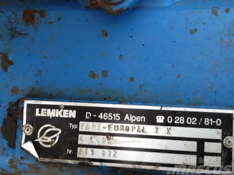 Lemken VarioPal 7X - 4 furet