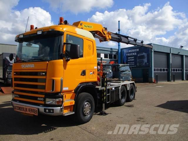 Scania 124 400 6X4 EURO 2 PALFINGER PK 60000