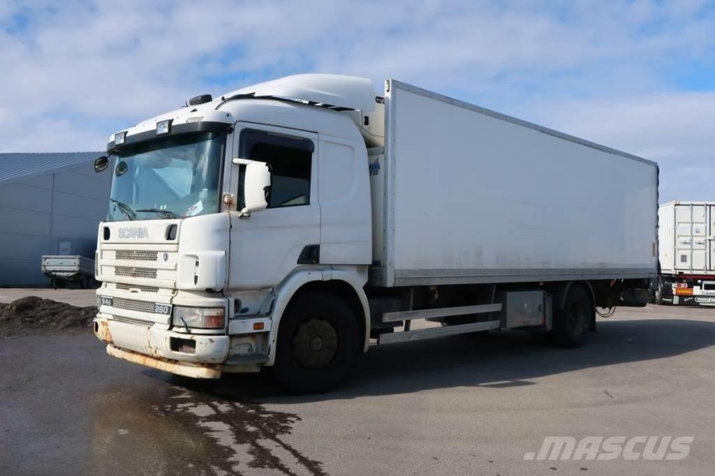 Scania P94 DB 4X2 NB 260 cv liftgate refrigerated truck