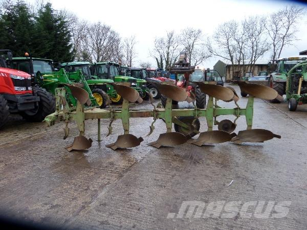 DOWDESWELL DP7D2 5 FURROW REVERSIBLE PLOUGH