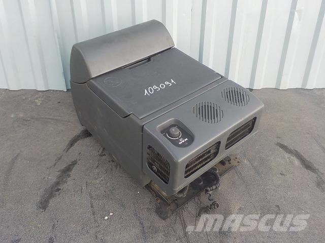 MAN TGA Cooler box 81613356061 81639106010 81613356052