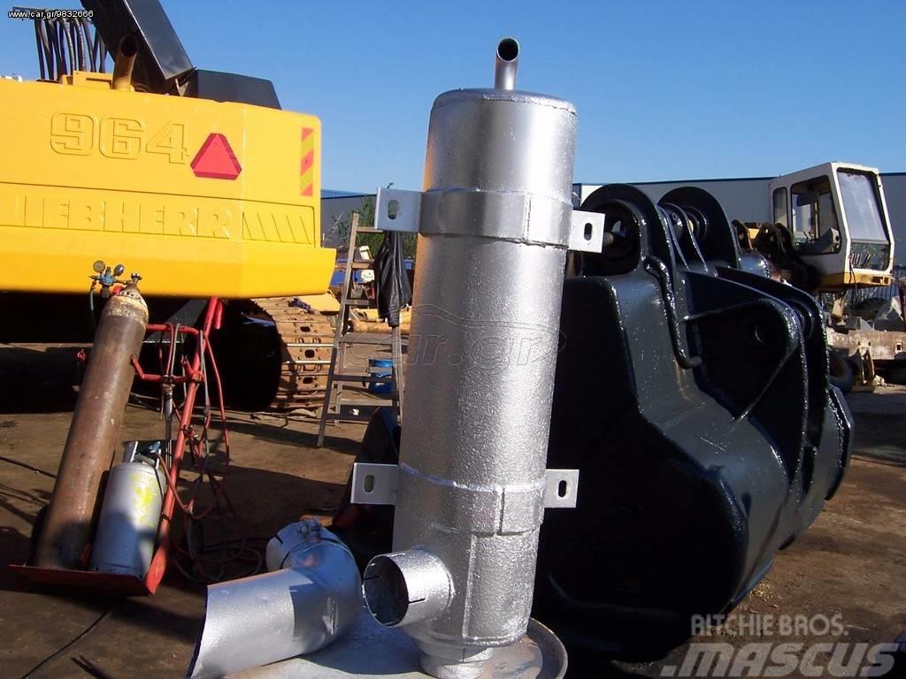 [Other] exhaust pipe LIEBHERR R 964 Εξάτμιση Liebherr 964