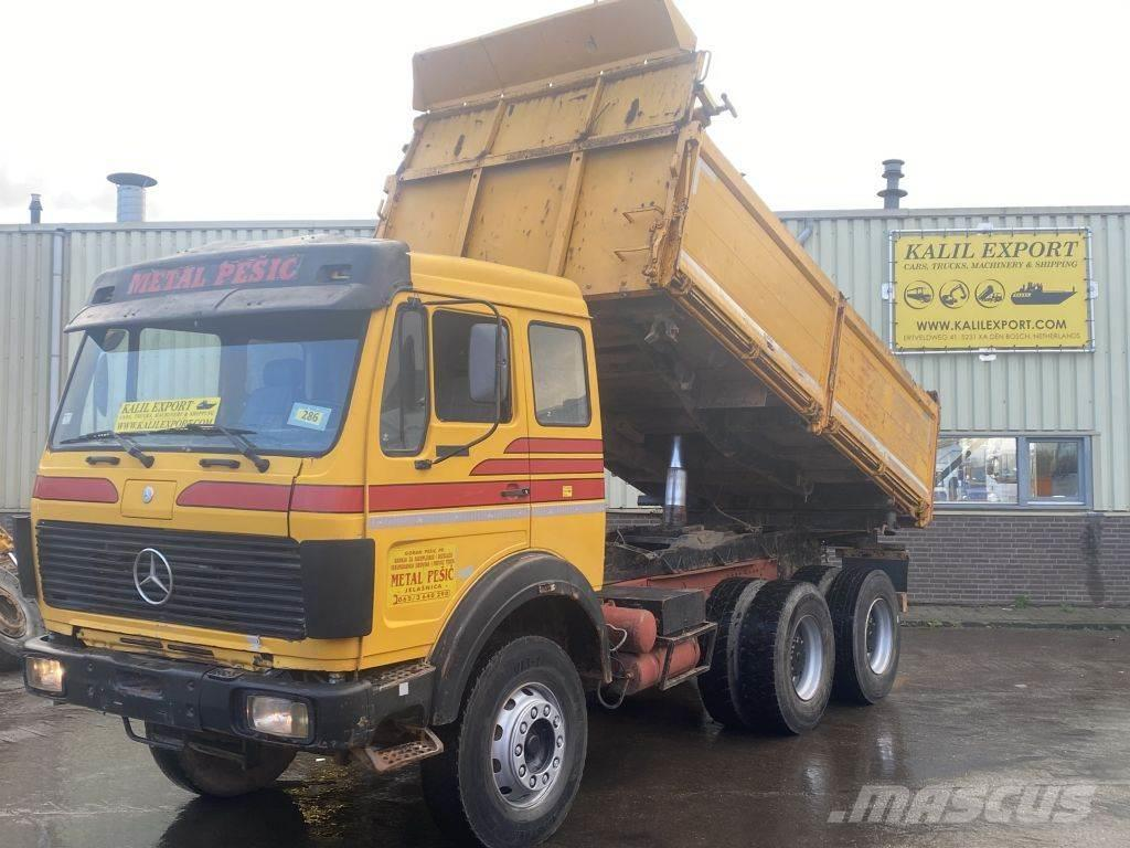 Mercedes-Benz 2635 Kipper 6x4 V8 ZF Big Axle's Good Condition
