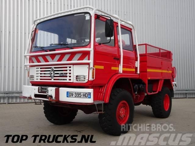 Renault 85.150 4x4 feuerwehr - fire brigade - brandweer -
