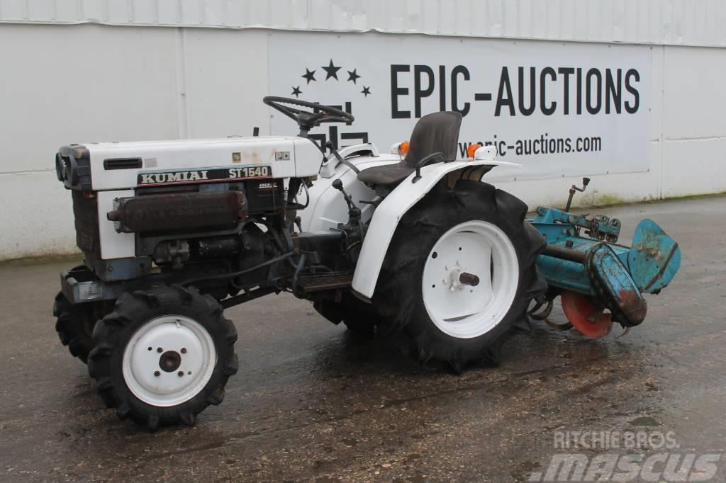 [Other] Kumiai ST1540 Mini Tractor Met Frees