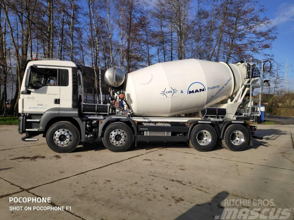 Cifa SL9 mixer (9 m³) MAN TGS 35.360 8x4