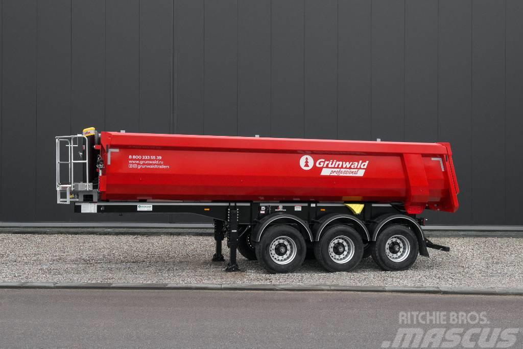 Grunwald 22 cbm tipper semitrailer