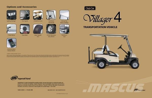 Club Car Precedent Villager 4 Seats Electric