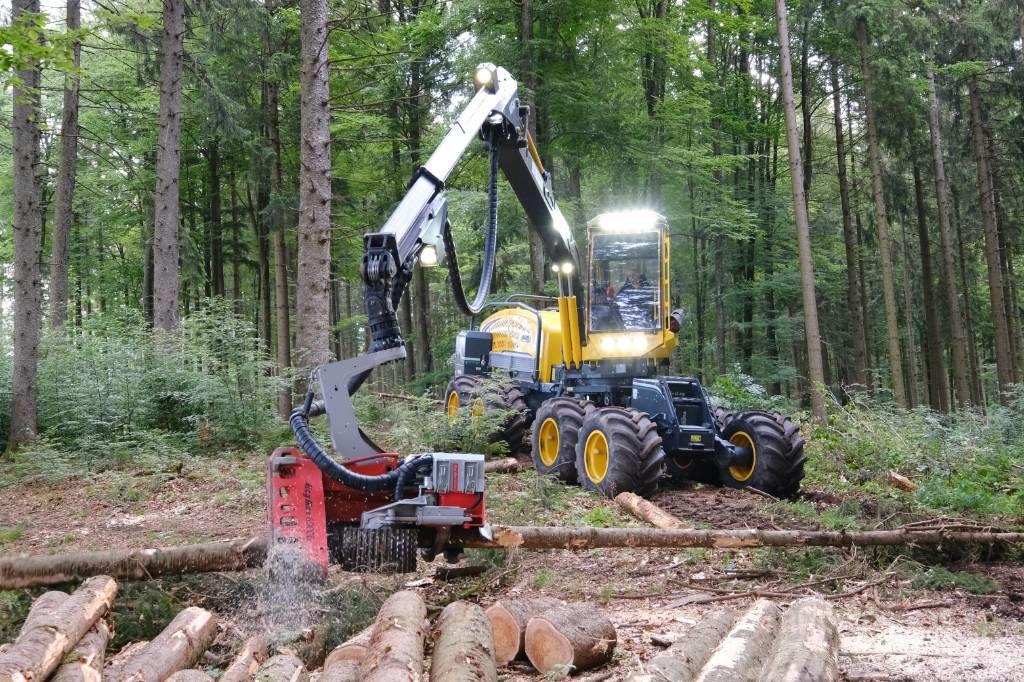 Eco Log 688F mit Logmax 6000V - Neumaschine