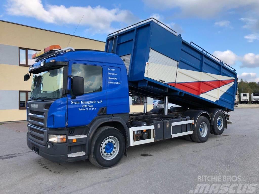 Scania P420 6x2*4 VACUM