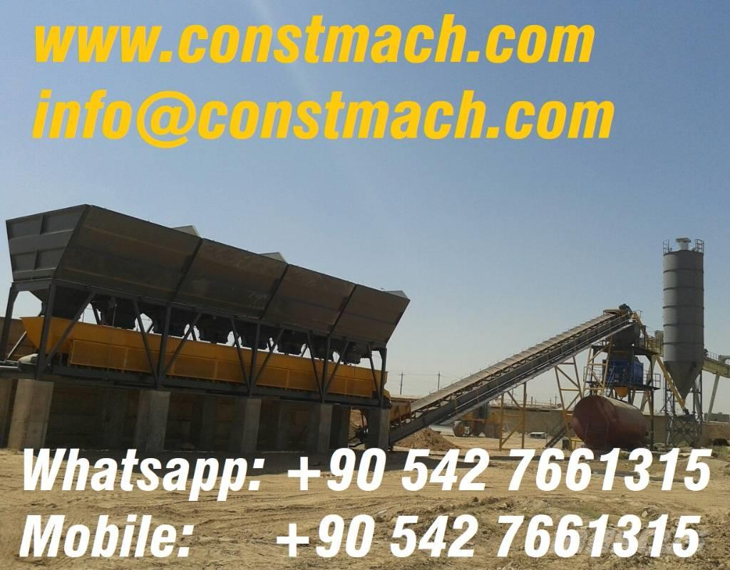 Constmach 75 m3/h – Full Automatic Concrete Plant