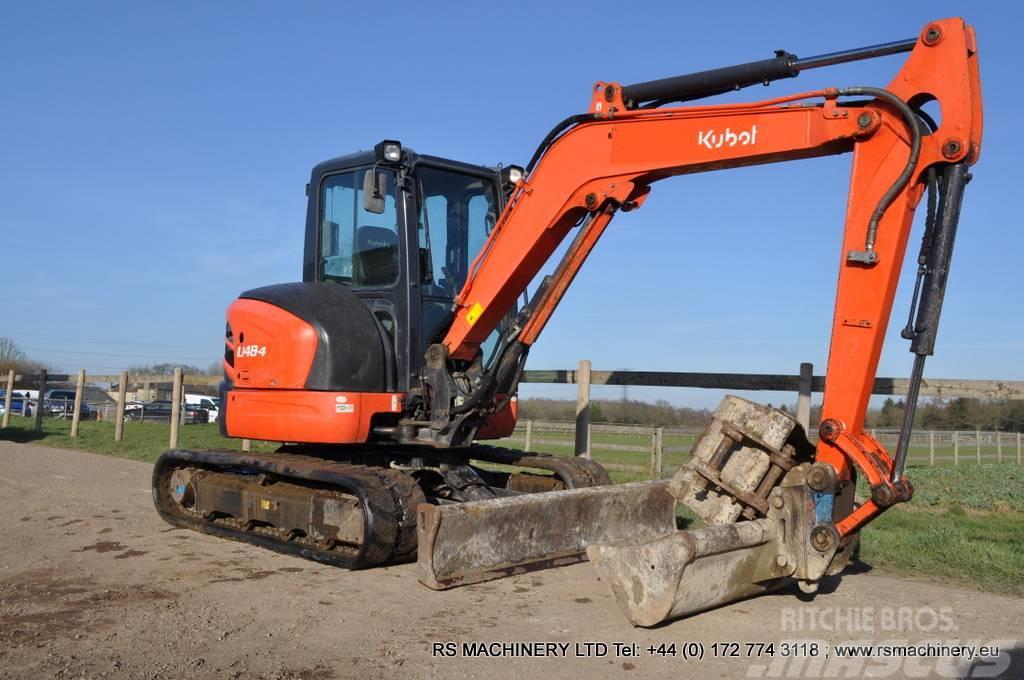 Kubota U48 4 48t Mini Excavator Digger 3004hours Price 21924