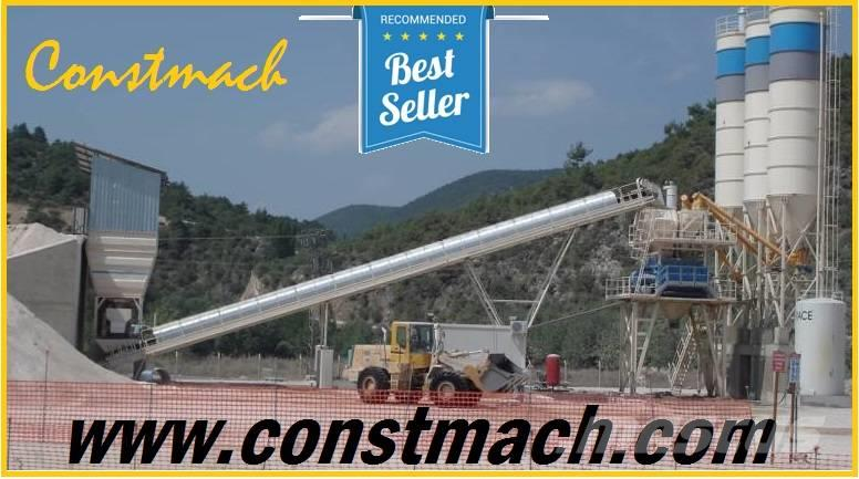 Constmach 120 m3/h CONCRETE MIXING PLANT - READY TO DELIVERY