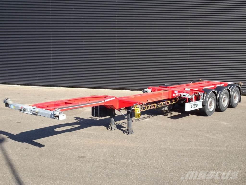 Fliegl SDS01 / MULTI CONTAINER-CHASSIS /2 x 20 / 30 / 40