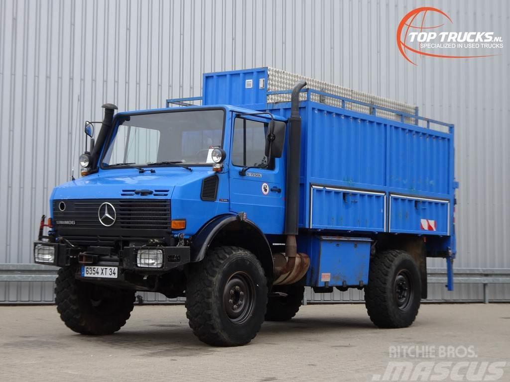 Mercedes-Benz Unimog U1550 L 4x4 - (437) - 210 PK - Werkplaats,