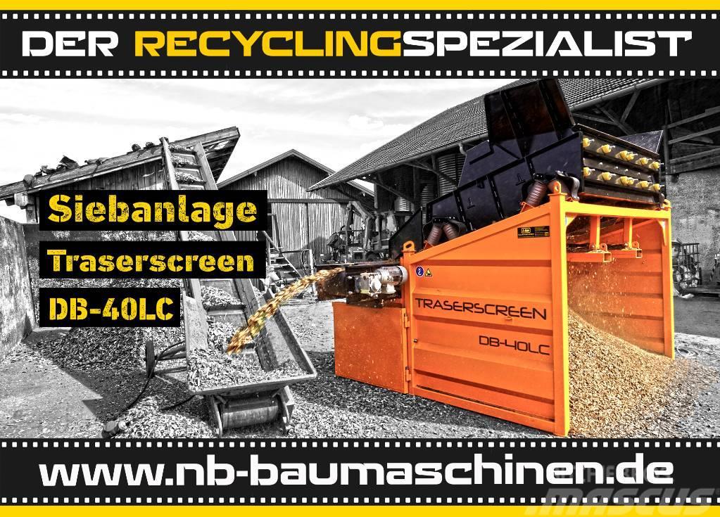 DB Engineering DB-40LC Siebanlage   Flachdecksieb   Siebbox