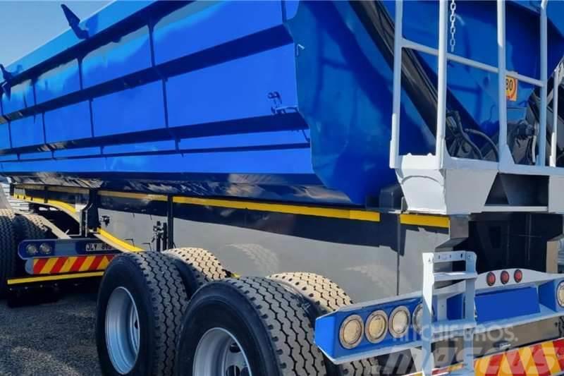 Sa Truck Bodies 2018 SA Truck Bodies 45m3 Interlink Side Tipper