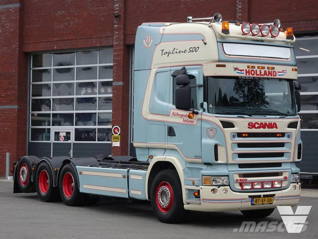 Scania R500 8x4*4 chassis - Topline - Manual gearbox - Re
