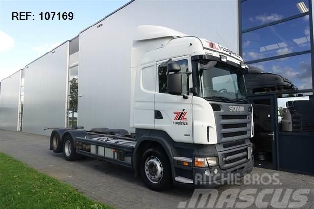 Scania R480 6X2 MANUAL HIGHLINE EURO 4