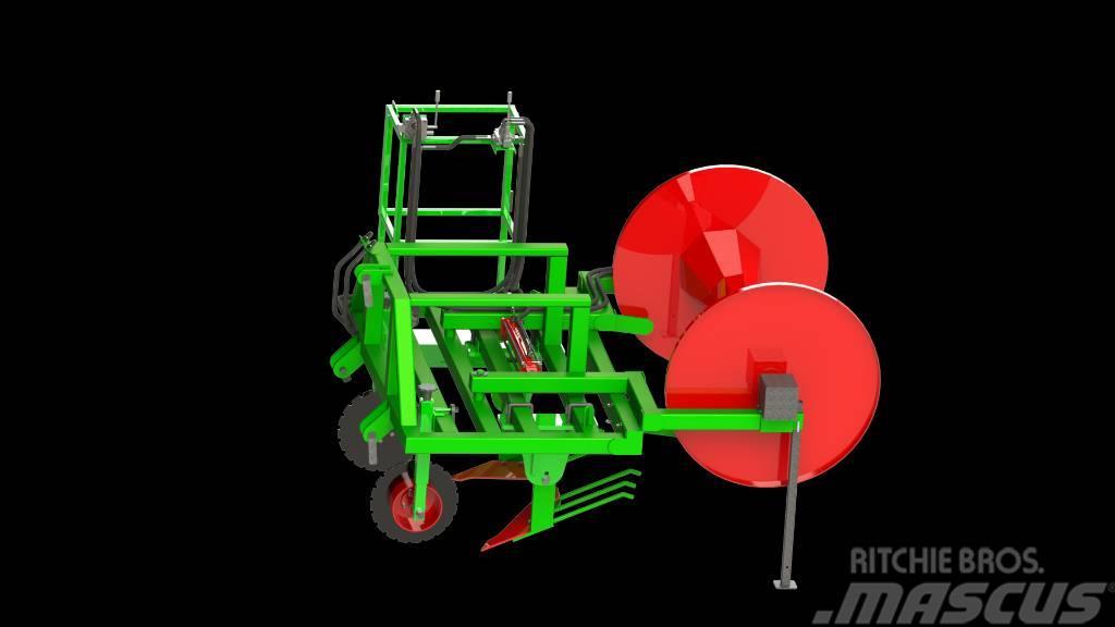 ASP Mulch foil remover / Skidač mulch folije
