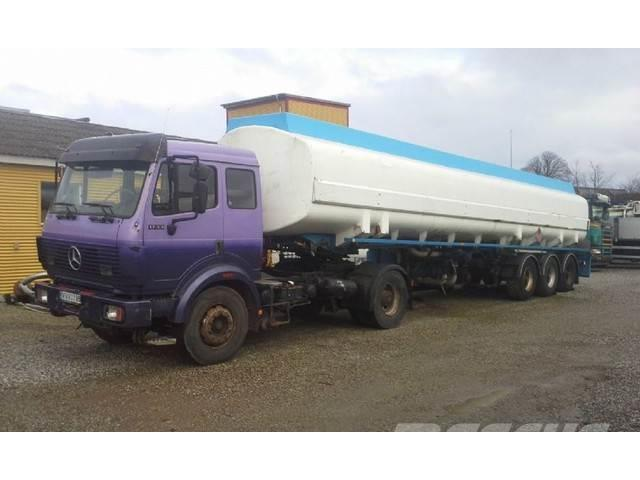 [Other] Setra/Kaessbohrer Tankzug 43000 Liter petrol pomp