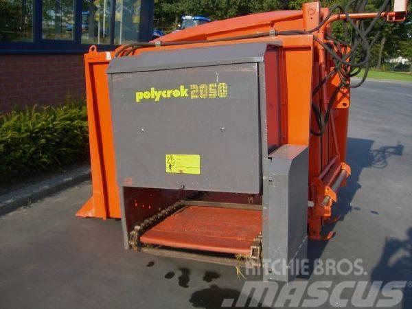 Kuhn Polycrock 2050, Silo unloading equipment