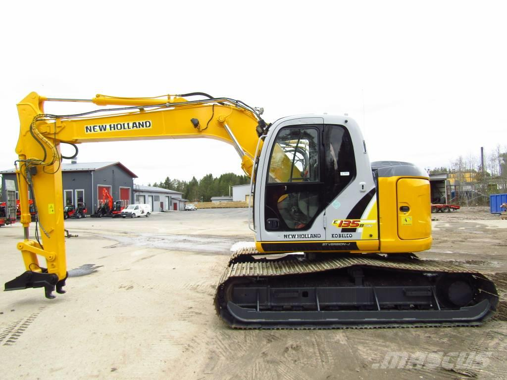 New Holland MYYTY! SOLD!  E135BSRLC